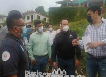 Autoridades estatales acudieron a Temango