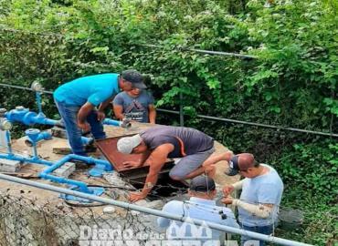 Mejora el sistema de agua entubada