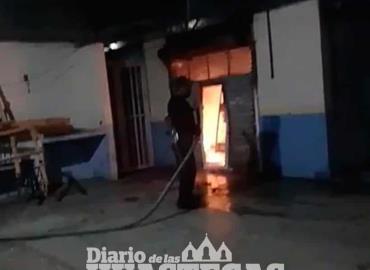 Se incendió local en Mercado Municipal