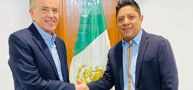 Gallardo y JM Carreras tuvieron un encuentro
