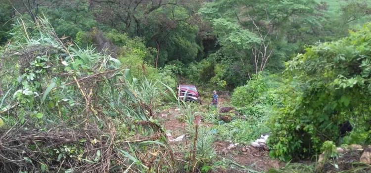 Abuelita murió  en accidente