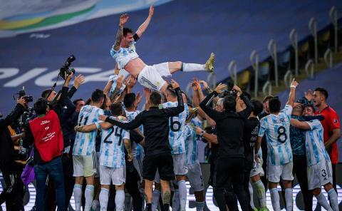 La Argentina de Messi gana la Copa América en el Maracaná