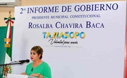 Alcaldesa rendirá su tercer informe