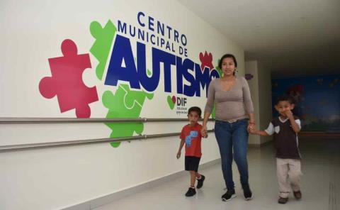DIF brinda atención a niños con autismo