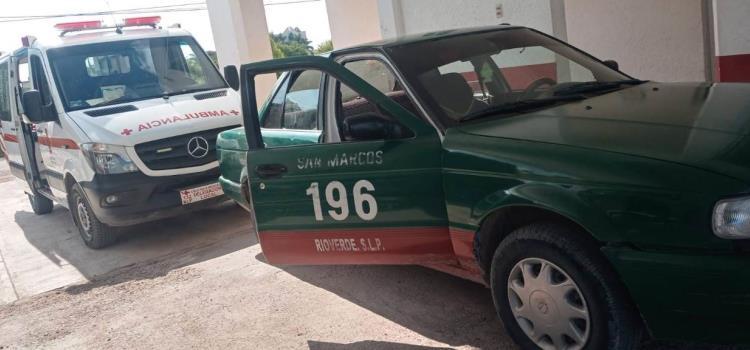 Abuelita murió en un taxi