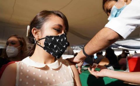 Vacunación a los de 30 a fin de mes