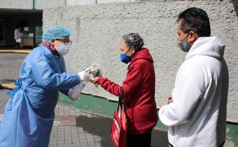 Módulo respiratorio instalan en el IMSS
