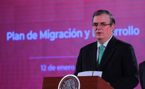 Va Ebrard rumbo a la Presidencia de México