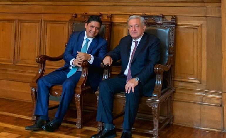 Acuerdan AMLO y Gallardo una colaboración mutua