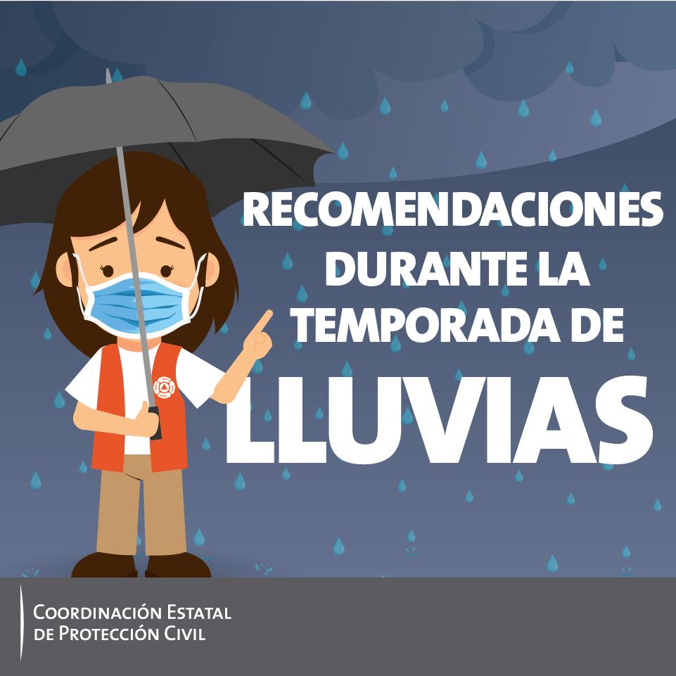 Recomendaciones durante la temporada de lluvias