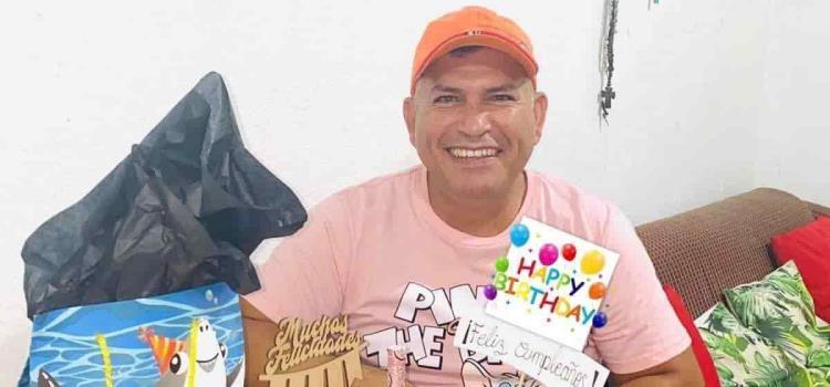 Convivio familiar de Víctor Rubio