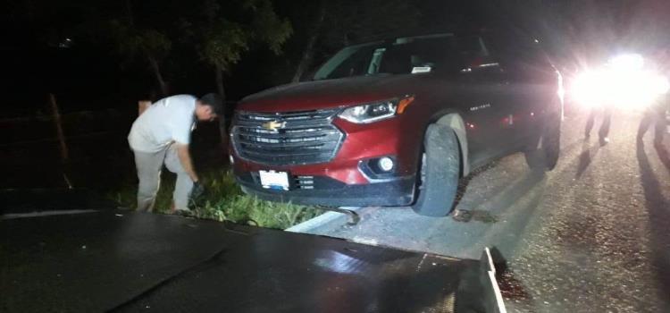 Camioneta abandonada hallaron por el Hospital