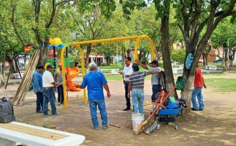 Juego inclusivo al Parque Pípila