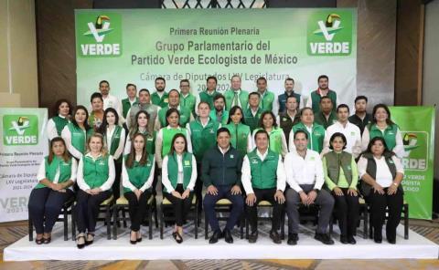 Grupo parlamentario de PVEM respalda a Gallardo