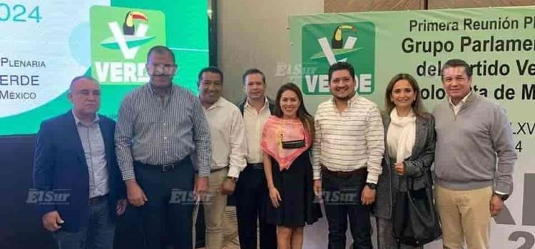 Luis Fernando con diputados federales