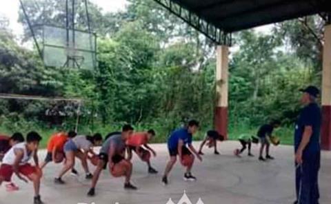 COMUDE invita a infantes a entrenamientos de básquet