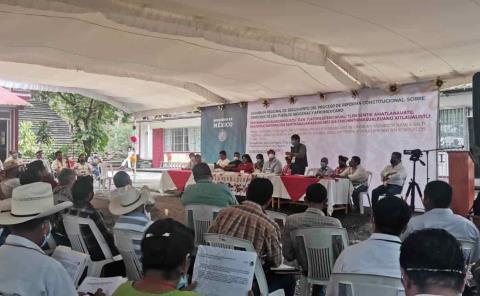 Preparan proceso de consulta étnica