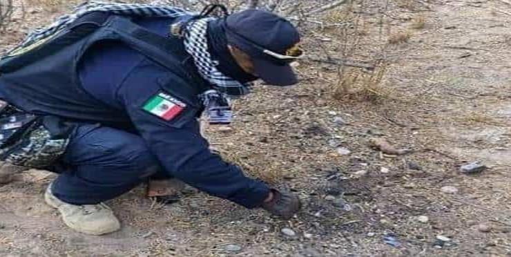 Mujer enterrada en una fosa clandestina