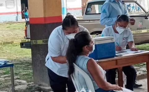Sin incidentes en la jornada de vacunación