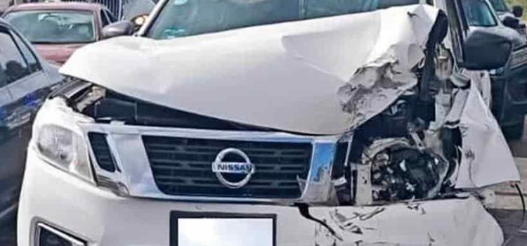 Accidente dejó cuatro personas lesionadas