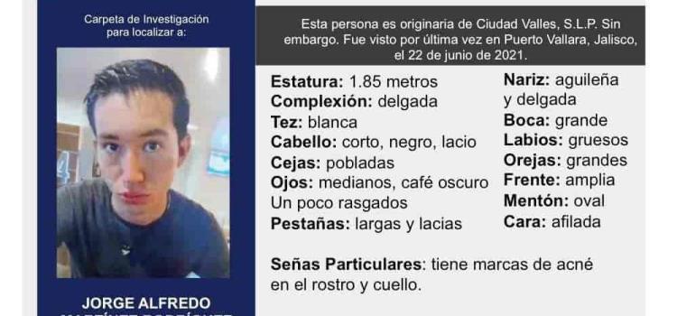 Vallense desaparecido  en el Estado de Jalisco