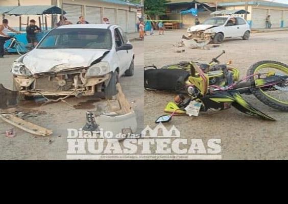 Jovencitos heridos en brutal accidente