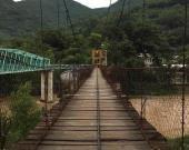 Puente colgante representa riesgo