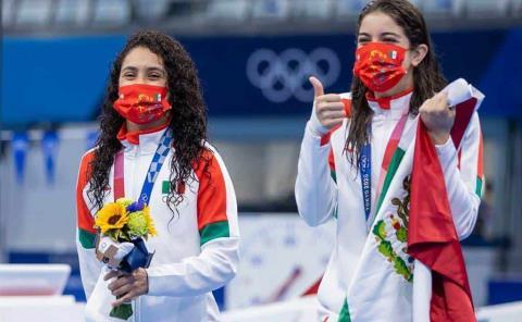 Felicita AMLO a medallistas y confía en más preseas; ganaron en Tokio 2020
