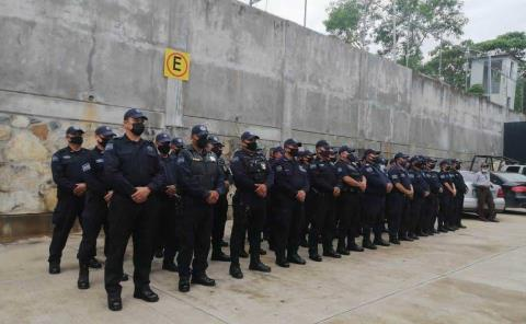 Nuevos policías evaden exámenes