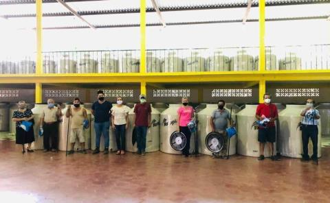 Tinacos entregó Edil a La Palma