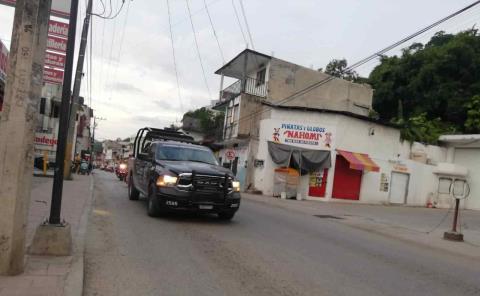Balacera en la Juárez