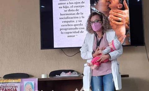 Lactancia materna es segura en pandemia