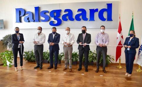 Carreras inauguró planta de Palsgaard