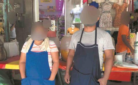 """Amenazan hijos de lideresa a comerciantes: """"los hago responsables de lo que me pase a mí, a mi esposo y familia"""""""