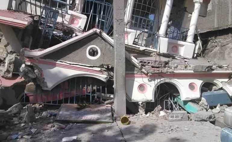 Sismo deja muertos y daños en Haití