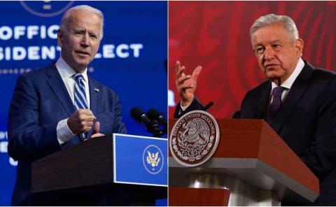 Sostendrá AMLO encuentro con Joe Biden