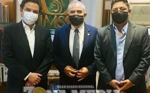 Gallardo se reunió con Director del IMSS