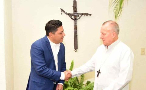 Iglesia apoyará con el gobierno de Gallardo: Arzobispo