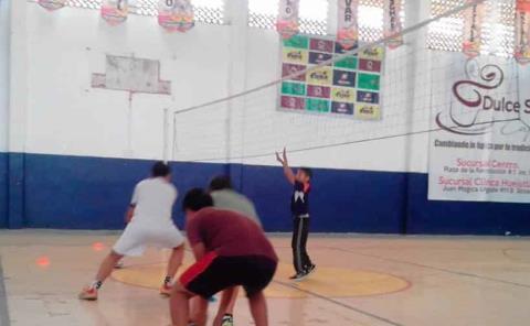 Voleibol en la fase intermedia