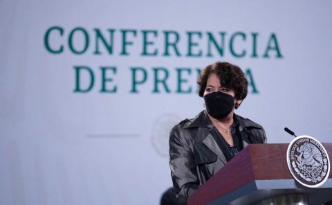 """La carta no existe, se elimina"": Delfina Gómez"