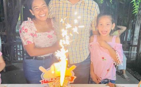 Cumpleaños de Misraim Morales