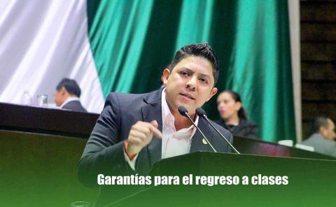 Llama Gallardo a Gobierno brindar garantías para el regreso a clases