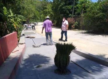 Alcalde Iván Lara realizó recorrido