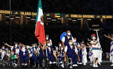 Arde el fuego de los Paralímpicos