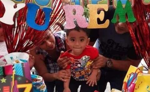 Piñata de Paw Patrol a Cristo Yurem Rincón