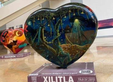 """""""Corazón"""" de Xilitla ahora en la Capital"""