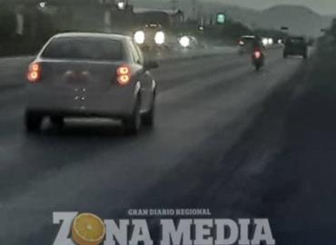 Oscuro y peligroso tramo carretero