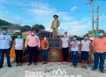 Conmemoran natalicio de Mayor Luis Amador