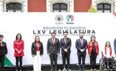 Legisladores electos realizan reunión plenaria