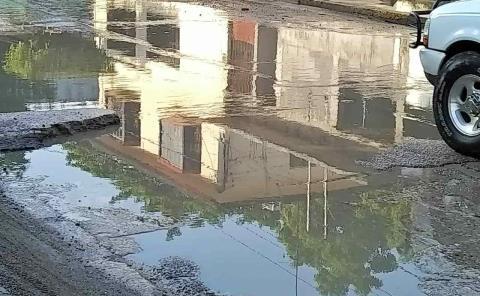Exigen ampliar un dren pluvial